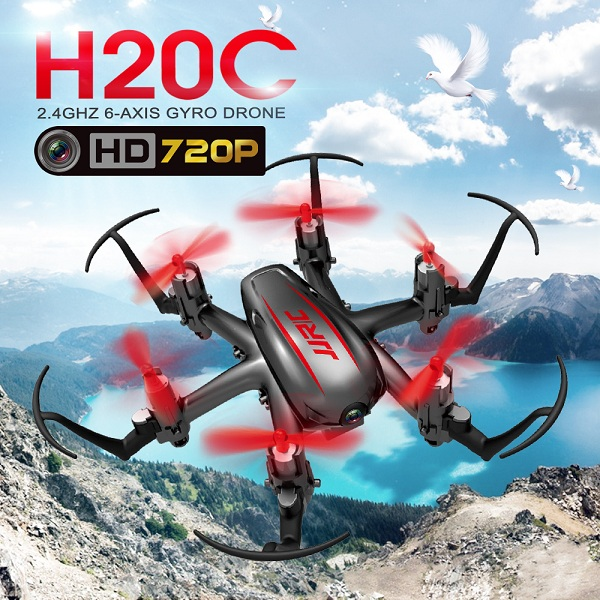 JJRC H20C with 2MP Camera  2.4G 4CH 6Axis Headless Mode Nano Hexacopter RTF