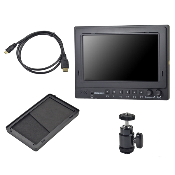 Feelworld FW-768/S/O/P 7Inch HD Field Monitor With SDI Input&Output