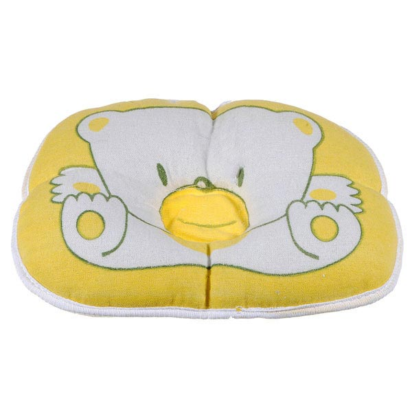 Infant Baby Bear Cotton Pillow Prevent Flat Head Cushion Pad
