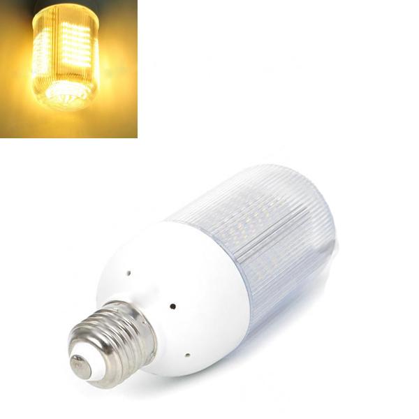 E27 6W Warm White 128-LED 640LM LED Light Lamp Bulb AC 220V