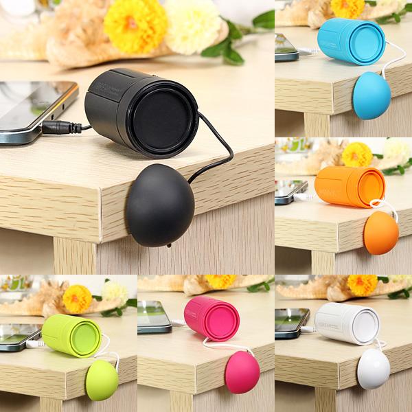 X-VIBE Mini Portable Capsule Vibration Speaker Resonance Sound Speaker