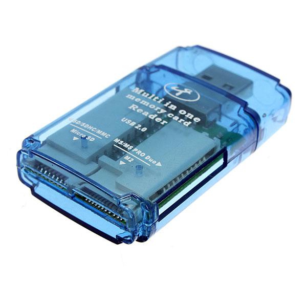 USB 2.0 Four Slots High-performance Memory Card Reader 568