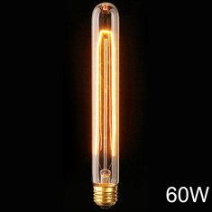 E27 110V/220V 60W T30 225MM Vintage Edison Filament Incandescent Bulb