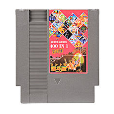 400/340/150 In 1 DIY 72 Pin 8 bit Game Cartridge for NES with Game Contra 7 NINJA GAIDEM DOUBLE