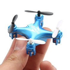 Eachine E10 Mini Headless Mode 2.4G 4CH 6 Axis LED RC Quadcopter RTF
