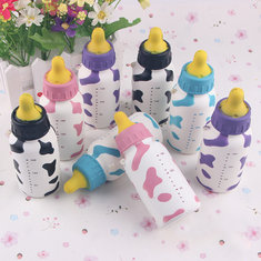 Squishy Milk Nursing Bottle Toy Cute Kawaii Phone Bag Strap Pendant 13x5cm