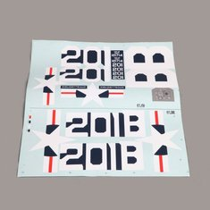 Eleven Hobby F8F Bearcat 1100mm Warbird RC Airplane Spare Part Decal Sheet EHF8F12