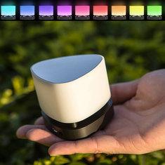 Bluetooth 4.0 умные интеллектуальные мини LED ночь светлый цвет меняется касания кнопки акустической панели лампы