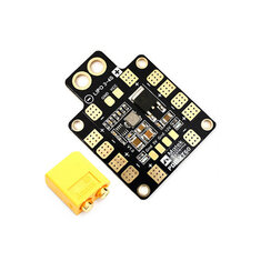 Matek Systems PDB-XT60 W/ BEC 5V & 12V 2oz Copper For RC Multirotors