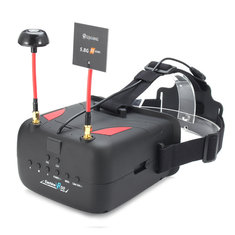 Eachine VR D2 5 Inches 800*480 40CH Raceband 5.8G Diversity FPV Goggles with DVR Lens Adjustable