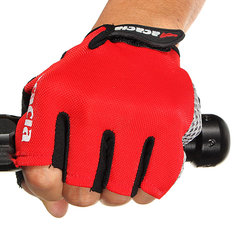 Outdoor Cycling Bike Bicycle Half Finger Gloves Riding Gloves