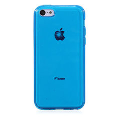 Crystal Clear Transparent Silicone TPU Case For iPhone 5C