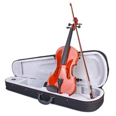 Colorful Violin 4/4 Acoustic Not Fade Violin with Case&Bow
