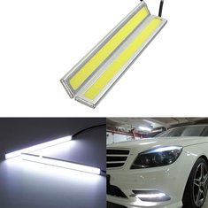 12V Waterproof Car LED Lights DRL Fog Driving Lamp