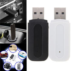 YET-M1 3.5mm USB Wireless Bluetooth Music Audio Stereo Receiver Adapter Dongle for iPhone MP3 MP4 Speaker