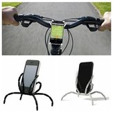 8 Leg Cell Phone Spider Holders Bicycle Mobile Phone Support