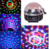 20W Voice-activated Crystal Ball DMX512 LED Stage Light For KTV Bar