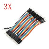 120Pcs 10cm Male To Male Jumper Cable For Arduino