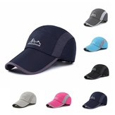 Men Mesh Baseball Cap Outdoor Sport Quick-drying Sunshade Breathable Hat