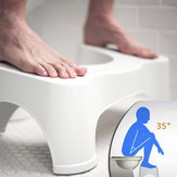 ABS Nonslip Bathroom Toilet Stool Prevent Constipation Toilet Footstool for Better Bowel Movements