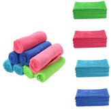 20PCS 25x25cm Multifunction Fibre Soft Clean Towel Car Kitchen Detailing Cleaning Polish Cloth