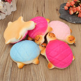 5PCS 13cm Soft Kawaii Cute little Turtle Phone Bread Bun Squishy Charms With Rope Random Color