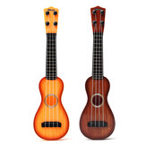 Children Educational Instrument 4 String Ukulele Guitar Plastic Toy for Kid