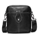 Men Business Business Genuine Leather Cowhide Crossbody Bag Shoulder Bag