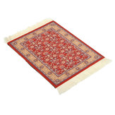 28cmx18cm Red Crown Bohemia Style Persian Rug Mouse Pad For Desktop PC Laptop Computer