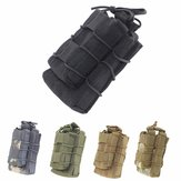 Outdoor Waist Bag Molle Accessory Pack Clip Mag Pouch Hunting Bag Elastic Open Top