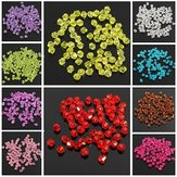 100Pcs 3mm Glass Crystal Bicone Loose Beads DIY Jewelry Accessories