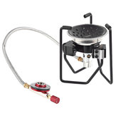 Alocs Outdoor Portable Cooking Stove Camping Picnic Gas Furnace Burner Split-Type Cooker