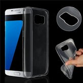Thin Crystal Clear Transparent Soft Silicone TPU Protective Case Back Cover for Samsung S7 edge