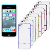 Ultra-Thin Transparent Clear Hard TPU Gel Case Cover For iPhone 5C