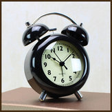 4 Inch Ultra-slilent Alarm Clock creative Simple Style Modern Alarm Clock Children Bedroom Clock