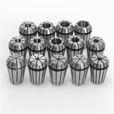 14pcs ER20 1/16 Inch to 1/2 Inch Spring Collets Set For CNC Engraving Milling Lathe Tool