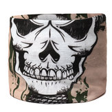 Unisex Outdoor Riding Skull Sports Scarf Dust Neck Face Mask Ski Sport Headband For Men Women