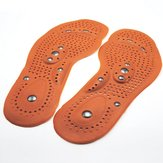 Magnetic Therapy Magnet Foot Massage Insoles Promote Blood Circulation Fatigue Relieve Shoe Pads