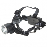 China Wholesale 1600Lm CREE XML T6 Rechargeable LED Headlamp 18650 A2 + AC Charger