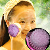 Soft Bristle Exfoliating Facial Brush Face Care Cleaning Wash Cap