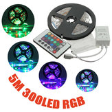 China Wholesale 5M 3528 SMD RGB Non-Waterproof 300 LED Strip Light 12V DC