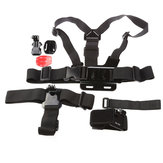 5IN1 KT-111 Suit Accessories Using Apparel Assembly For Gopro 2 3 3 Plus Xiaomi Yi SJ4000