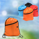 Outdoor Camping Sports Kids Drawstring Schoolbag Backpack