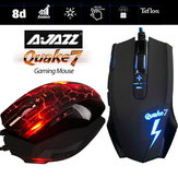 AJAZZ Quake7 Smart 2400DPI 8D Breath LED Wired Optical Gaming Mouse