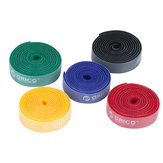 1PC Package ORICO CBT-1S Reusable Rainbow Cable Ties / Wire Ties to Organize Cords Rainbow Color