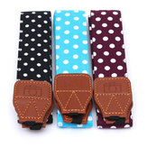 Polka Dot Pattern Rapid Shoulder Sling Belt Neck Strap For Canon Nikon Sony DSLR Camera