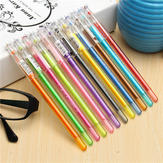 12pcs Assorted Colors 0.5mm Gel Pens Neutral Fine Point Pens