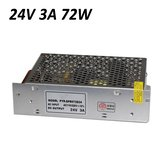 72W Switching Power Supply 110-220V To 24V 3A For LED Strip Light