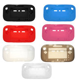 Soft Rubber Silicone Case Cover Skin Protector For Nintendo Wii U GamePad Controller
