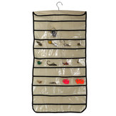 Jewelry Hanging Storage Organizer Bag Multipurpose Display